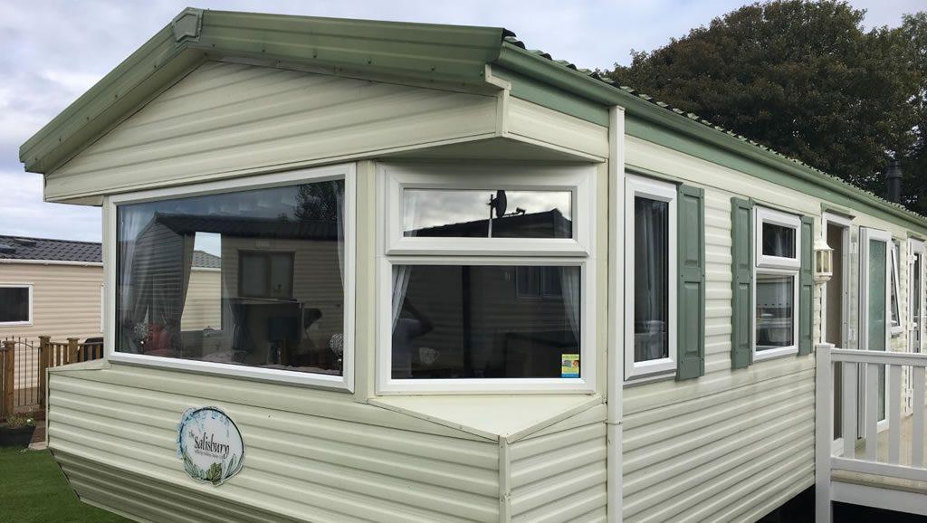 after replacement caravan windows and doors Eyemouth, external 2