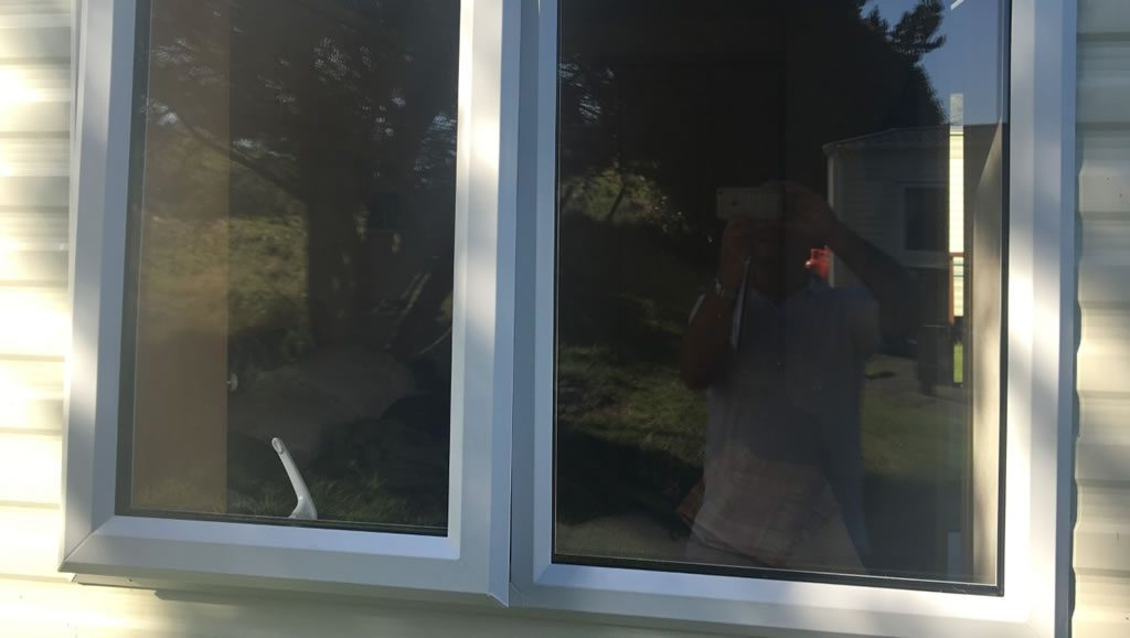 after installation replacement caravan windows double glazing external Greenlaw, Scotland 2
