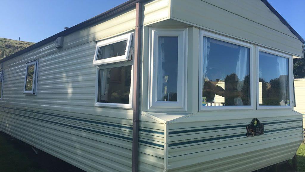 after installation replacement caravan windows double glazing external Greenlaw, Scotland 5