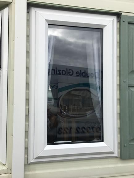 after replacement caravan double-glazed caravan window Eyemouth, external